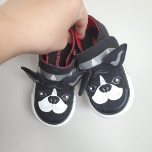Toddler Converse Size 6 - Frenchie Edition